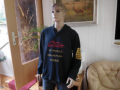 Herren Gr XL Michael Schumacher Pullover Shirt F1 World Champion mit Kapuze