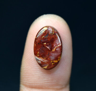 5.60 Cts. 100% Natural Pietersite Gemstone 15*10*4 mm Oval Cabochon