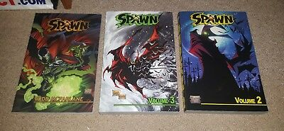 Spawn Volumes 1-3: Graphic Novel Paperback (image, 2006)
