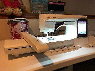 HUSQVARNA VIKING DESIGNER Ruby Royale Electronic Sewing Machine Awesome Husqvarna Designer Ruby Sewing Machine