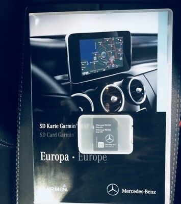 2019 Mercedes GARMIN MAP PILOT SD CARD SAT NAV A B CLA E GLS GLA GLE CLASS