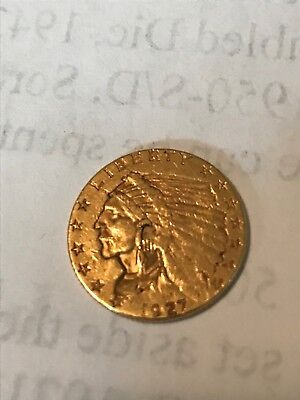 1927 $2.50 Indian Gold Coin