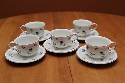 Villeroy boch blue meadow x 2 cups saucers for Villeroy boch granada