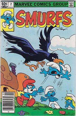 SMURFS   #s  1, 2, and 3  (Marvel) key vintage bronze age classics