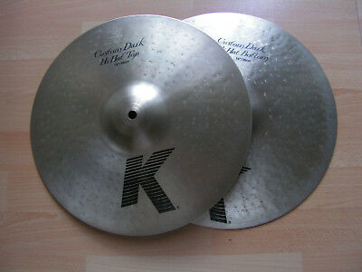 "Zildjian K Custom 14"" Dark Hi-Hat Becken"