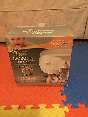 TOMMEE TIPPEE Closer To Nature Microwave Steam Steriliser - £5.02 ...