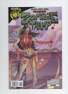 Zombie Tramp #1 Jerry Gaylord  Variant (July 2014, Action Lab Entertainment)
