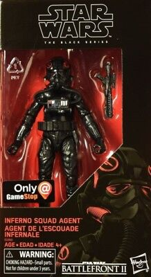 Battle Front 2 - Black Series - 6 Inch: Inferno Squad TIE Pilot Agent - PS4