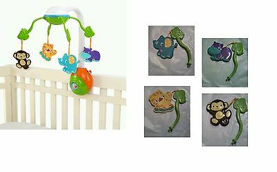 BRIGHT STARTS SOOTHING Safari Mobile ANIMALS  / REPLACEMENT PARTS - PICK 1