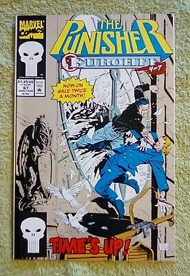 The Punisher #67 (Aug 1992, Marvel) 9.2 NM-
