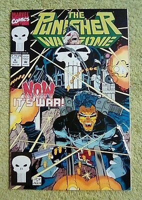 The Punisher: War Zone #6 (Aug 1992, Marvel) 9.2 NM-