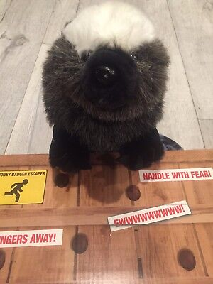 "14"" Talking Honey Badger Don't Care Doll - Adult Version *R-Rated*"