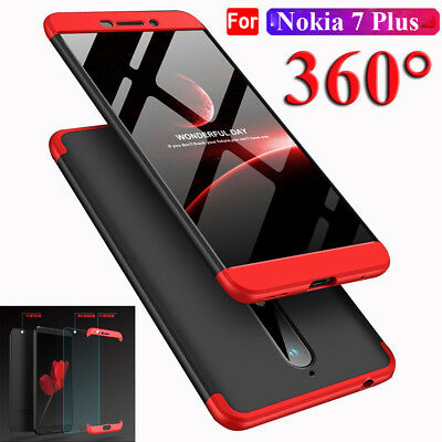Ultra Thin Acrylic PC Back Case For Nokia 6 2018 / 7 Plus Shockproof Cover