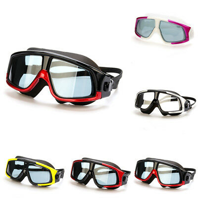 Unisex Anti-Fog Swimming Mask Diving Scuba Hyperopia Myopia Snorkeling Goggles
