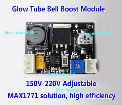 150V-220V DC High Voltage NIXIE&Magic Eye Tube HV Power Supply Module, NIXIE ERA