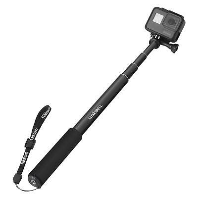 Selfie Stick Adjustable Telescoping Monopod Pole For Go Pro Hero Black Compact