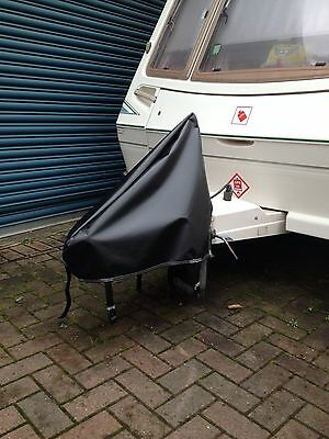 NEW Black PVC Waterproof Universal Caravan,camping,towing ,Hitch Cover- FREE P&p