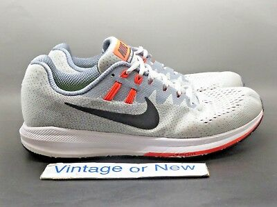 sneakers for cheap 4141c d102c Nike Air Zoom Structure Wolf Grey Black Squadron Blue Running 849576‑006 sz  10