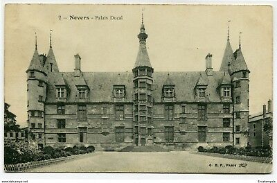 CPA - Carte postale- France -Nevers - Palais Ducal - 1915 (CP3395)