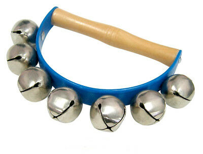 Jingle Bells Sleigh Bells Hand Bell Educational Percussion Musical Instrument