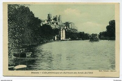 CPA - Carte postale- France -Béziers - Coin Pittoresque des bords de l'Orb
