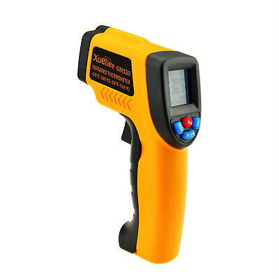 LCD Handheld Infrared Temperature Gun Thermometer Non-Contact IR Laser Point