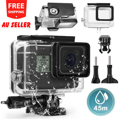 Waterproof Diving Protective Housing Clear Case For GoPro Hero 6 5 Go Pro OZ