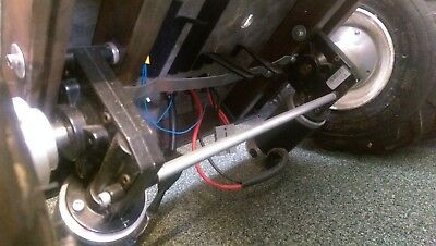 pair of 24v wheelchair motors & gearbox