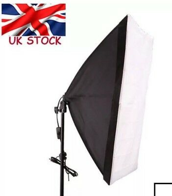 Photography Studio Softbox Lighting Soft Box EU Power Plug (2 Pins)