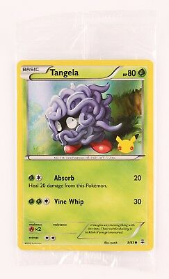 TANGELA 8//83 HOLO POKEMON PROMO SEALED XY GENERATIONS 20TH ANNIVERSARY