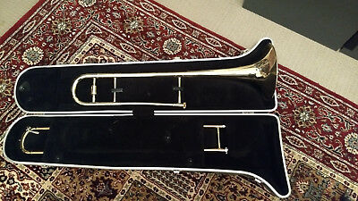Blessing Trombone Bb B-Flat Alto with Stand