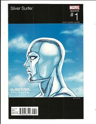 Silver Surfer # 1 (Chiang Hip Hop Variant, Mar 2016), Nm New