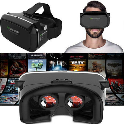 3D Brille VR Box Virtual Reality Headset für iPhone Android Samsung Huawei HTC