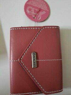 Rolodex Pink Ribbon Business Card Case 36-Card (1734451-503)