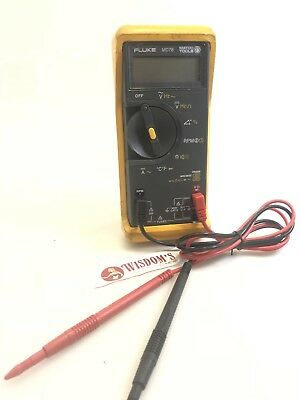 FLUKE MD 78 Automotive Multimeter Meter Matco Tools Ohm Rpm CF