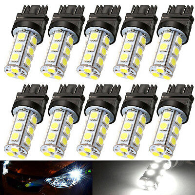10x Super White 3157 3156 HID 18 SMD 5050 Signal Brake Backup DRL LED Light Bulb