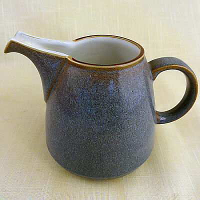 "STORM GREY by Denby Creamer 4"" tall NEW NEVER USED made in England"