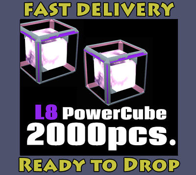 INGRESS Power Cube L8 2000pcs. # Ingress v1.0 & PRIME Valid Items #