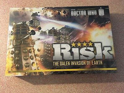 NEW Hasbro Risk Board Game - Doctor Who: The Dalek Invasion Of Earth