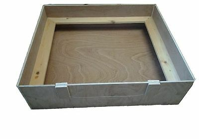"""WHELPING BOX 28"""" X 28"""" X 8"""". Wooden. Re-usable. Price reduction 20%"""