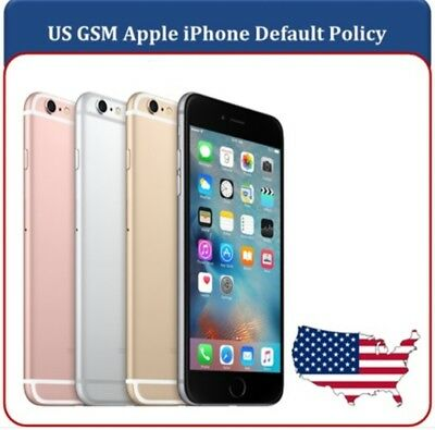 Apple iPhone X 8 8+ 7 7+ SE 6s+ US Default US GSM Policy 51 & 52 Clean Unlock