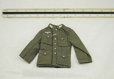 "1/6 Scale WWII German Soldiers M42 Uniform Model Gift for 12"" Action Figure"
