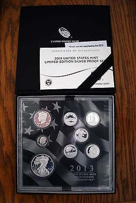 2013 United States Mint Limited Edition Silver Proof Set. lot# AA-CC
