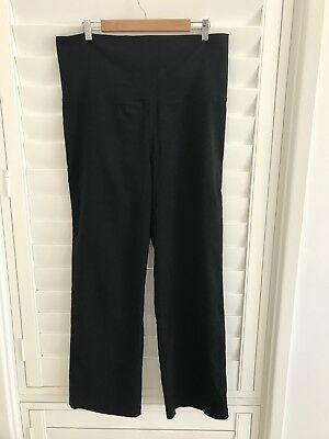 Pea In A Pod Maternity Black Work pants size 12