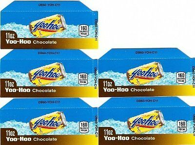 Yoo-Hoo Chocolate Labels 5 Small 11oz Can YooHoo Vending Machine Calories Labels