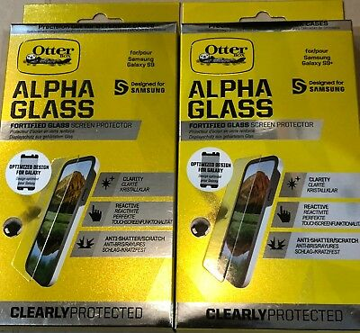 huge selection of 7a129 a7054 OTTERBOX ALPHA GLASS Clearly Protected Samsung Galaxy S9/S9+