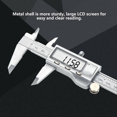 0-150mm High Accuracy Metal LCD Digital Vernier Caliper Micrometer Gauge Tool SG