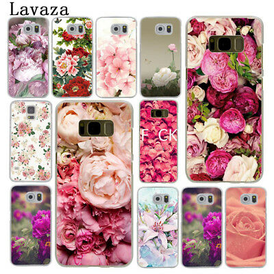 Rose Daisy Flower phone case back cover for Samsung Galaxy S7 S6 Edge S9 S8 Plus