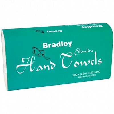 Bradley Bradleycare 2004 Slimline Hand Towel - New Packaging and Towel Size