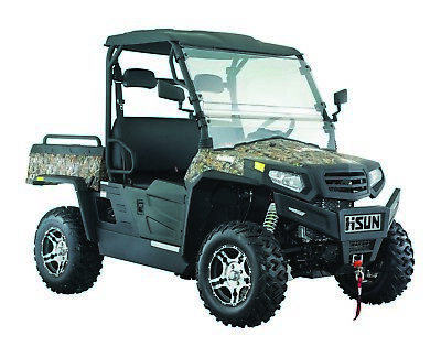 New Hisun 750 Sector Utility Vehicle 750cc H-L-N-R 2/4WD, Winch, Roof, W-Screen